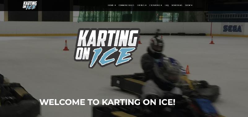 Karting On Ice